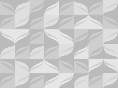 Seamless pattern from gray tiles background