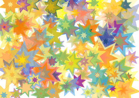Stars colorful texture background. Vector illustration for your design.