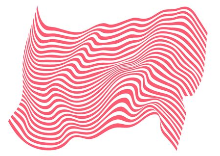 Zebra and tiger stripes flag pattern. Design for textile fabric printing. Fashionable and home design fit.