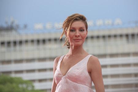 Actress Elena Podkaminskaya.
