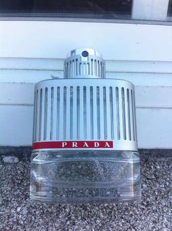 Prada Cologne Bottle  Banco de Imagens - 28241177