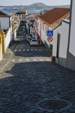 Colorful Street, Portuguese Azores