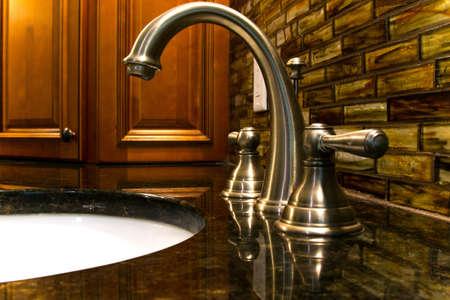 silver: Modern Bathroom