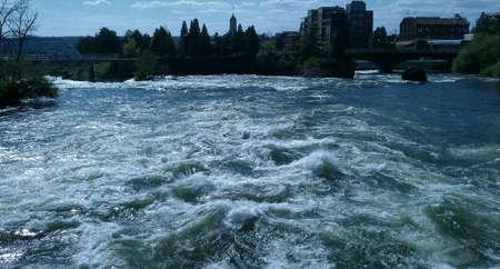 spokane river Stock fotó - 18308543