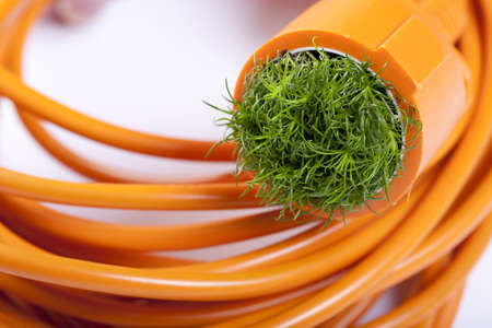 Cable and green energy, sustainable