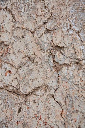 muro rotto: Rotto il muro molte fessure di trama.