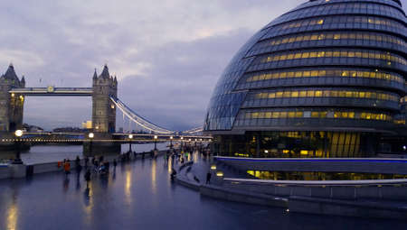 London city hall and tower bridge