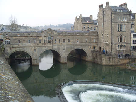 Pulteney Bridge, Bath Editorial