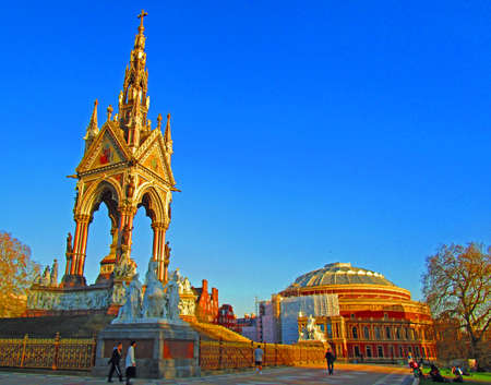Albert Memorial and Royal Albert Hall