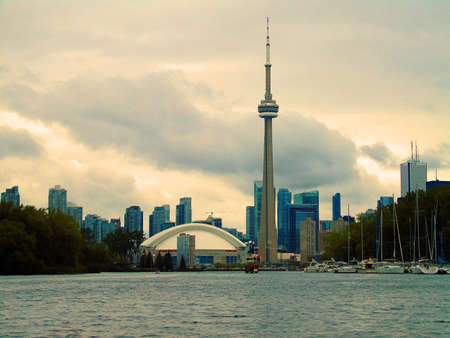 Toronto Waterfront and CN tower from the Toronto Islands