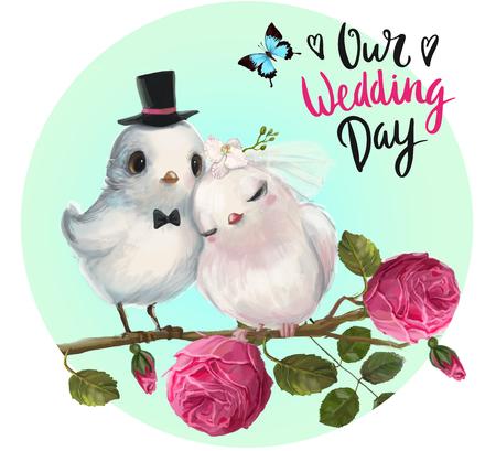wedding spring birds Imagens - 69708080