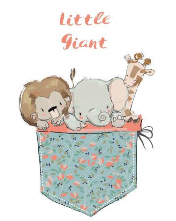 Little pocket animals