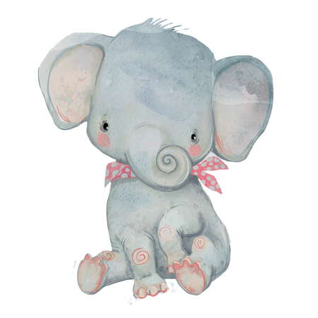 little pocket elephant Stock Photo