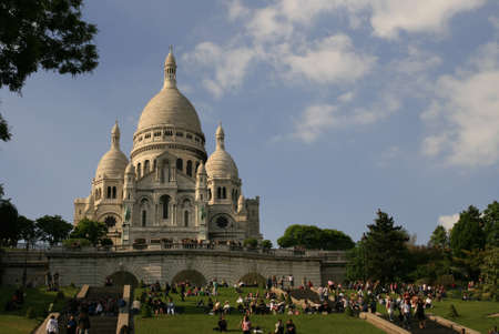 Sacre Coeur in Montmartre, Paris