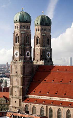 frauenkirche: M�nchner Frauenkirche Lizenzfreie Bilder