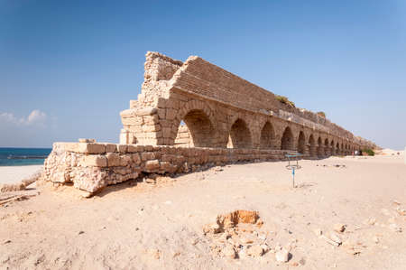 Roman Arches in Cesarea photo