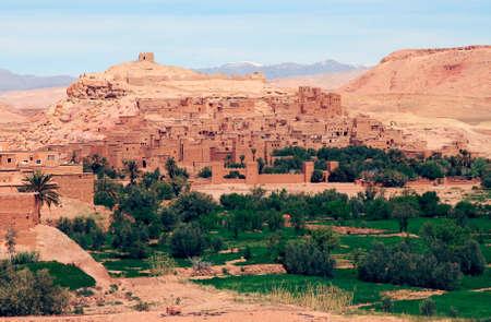 casbah: Ait Benhaddou in Ouarzazate - Morocco