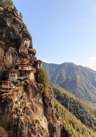 Tigers nest Temple or Taktsang Palphug Monastery (Bhutan)