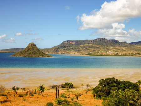 The sugarloaf of Antsiranana bay (Diego Suarez), northern Madagascar Stock fotó
