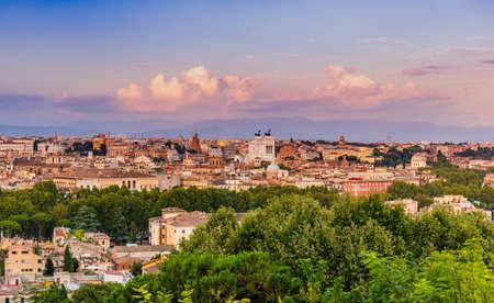 Bella Vista over Rome, Italy