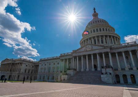 The United States Capitol, Washington D.C. 스톡 콘텐츠