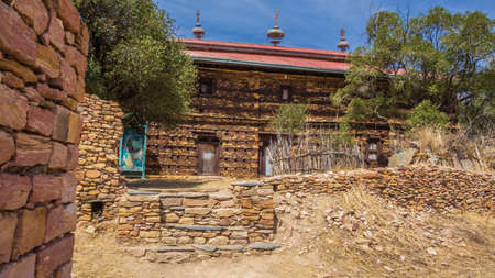 Debre Damo is one of Ethiopia's most important monasteries and is thought to date back to Aksumite times
