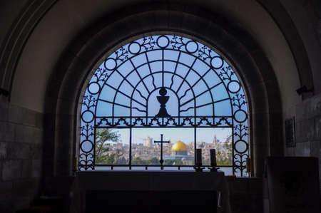Christianity and the muslim world Banco de Imagens