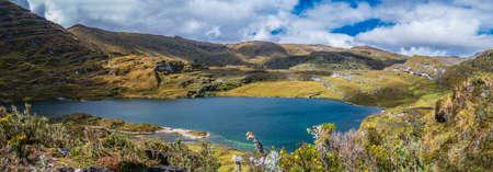 Banks of Sierpe Lake (Sierpecocha in Quechua)