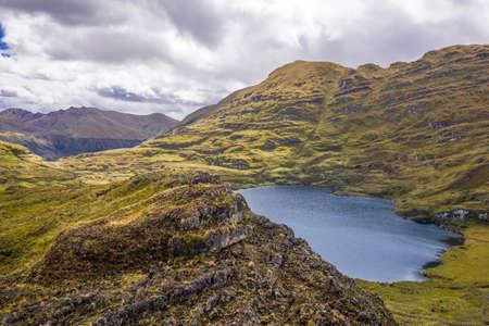 banks of Sierpe Lake (Sierpecocha in Quechua) 写真素材