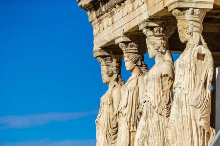 The Parthenon in Athens - Erechtheion