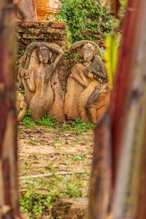 Details at Shwe Inn Thein Pagodas