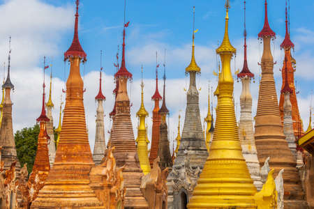 The Shwe Indein Buddhist Pagodas