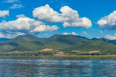 Beautiful landscape at Inle Lake, Myanmar