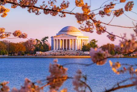 The Jefferson Memorial in Washington, DC