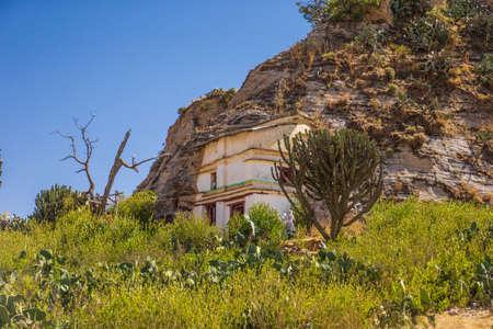 Maryam Korkor Church, Gheralta mountains, Ethiopia 写真素材