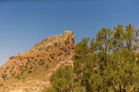 Home of the famous rock hewn churches of Northern Ethiopia. 写真素材