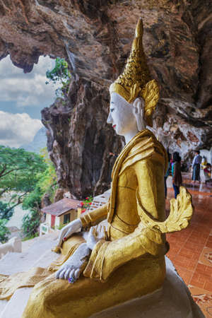 View from the buddhist cave monastery