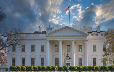 The White House, Washington DC 版權商用圖片