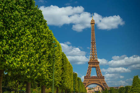 The Eiffel Tower, symbol of Paris. Stockfoto