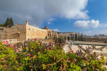 The Al-Aqsa Mosque in Jerusalem, Israel