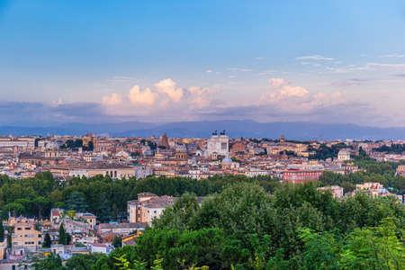 Panoramic view of Rome, Italy Archivio Fotografico - 150284052