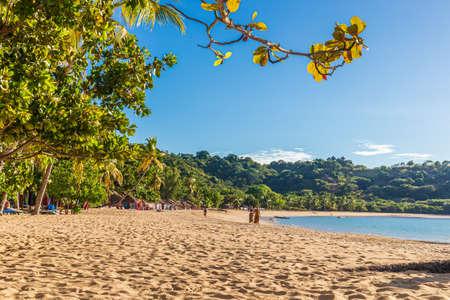 Madirokely Beach on the beautiful island of Nosy Be, Madagascar