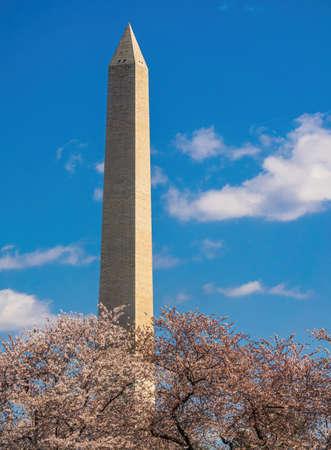 Washington Monument in Washington, DC, capital city of the USA. Archivio Fotografico