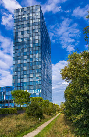 Munich, Germany - September 5, 2020: Süddeutsche Zeitung Headquarter in Munich, Germany