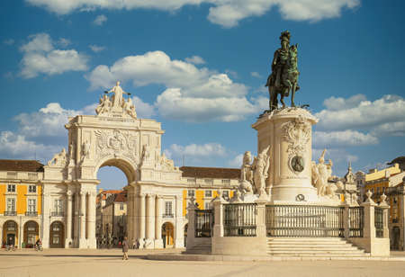 Commerce square - Praca do commercio - Lisbon, Portugal