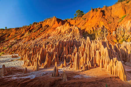 The Tsingy Rouge (Red Tsingy) in Madagascar