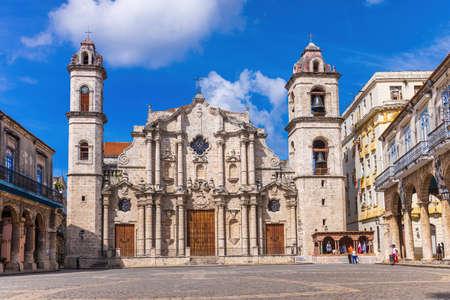 The Cathedral de San Cristobal de La Havana - Cuba