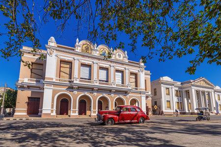 Teatro Tomas Terry colonial building in Cienfuegos - Cuba