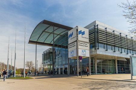 Vaccination Center Bayerisches Impfzentrum in Munich, Germany