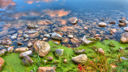 high dynamic range: High Dynamic Range image of River Rocks